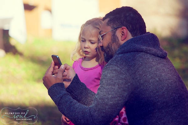 Beatrix, iPhone, and I