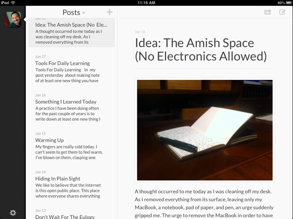 Automattic, Poster iOS en WordPress